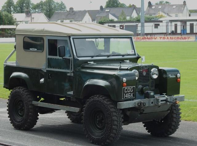 Modified Series 1 Land Rover David Heatley Flickr