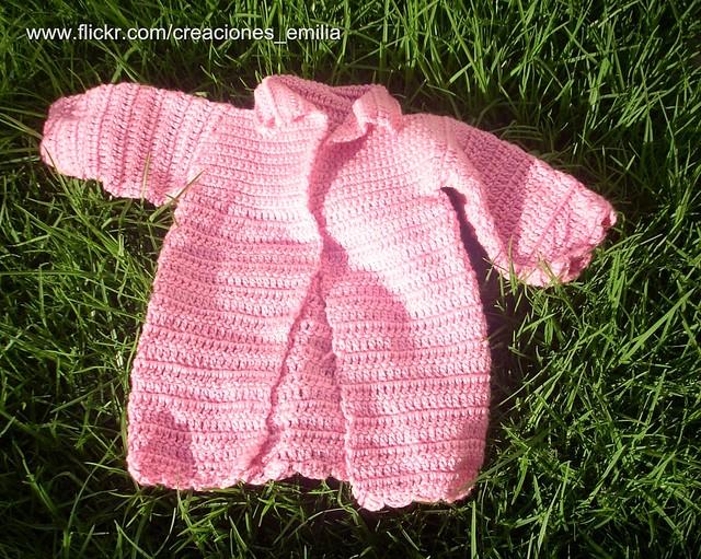 Abrigos Tejidos a Crochet Para Bebes