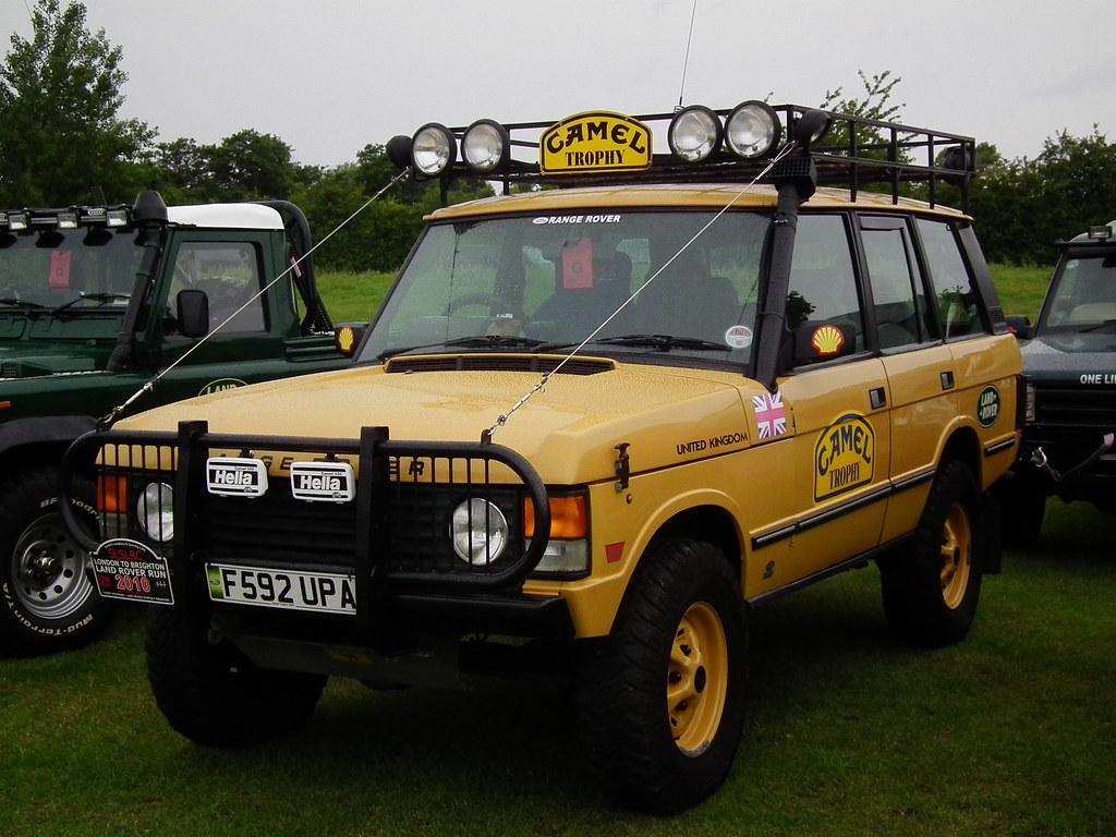 Range Rover Camel Trophy Camel 1988 Land Rover Range