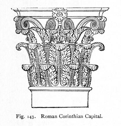 Corinthian Order Drawing Orders Corinthian Order