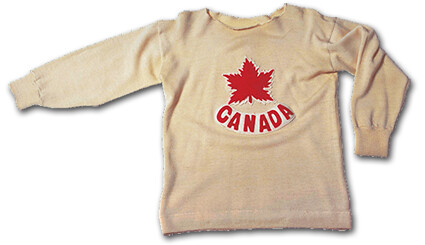 Canada 1928 Olympic jersey
