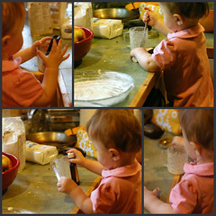 Lu helped me to bake for the first time. | by shauna | glutenfreegirl