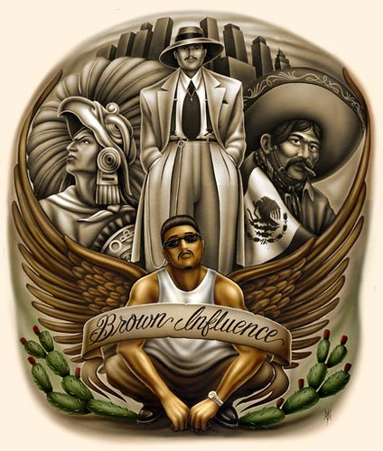 Chicano 5 - Brown pride drawings ...