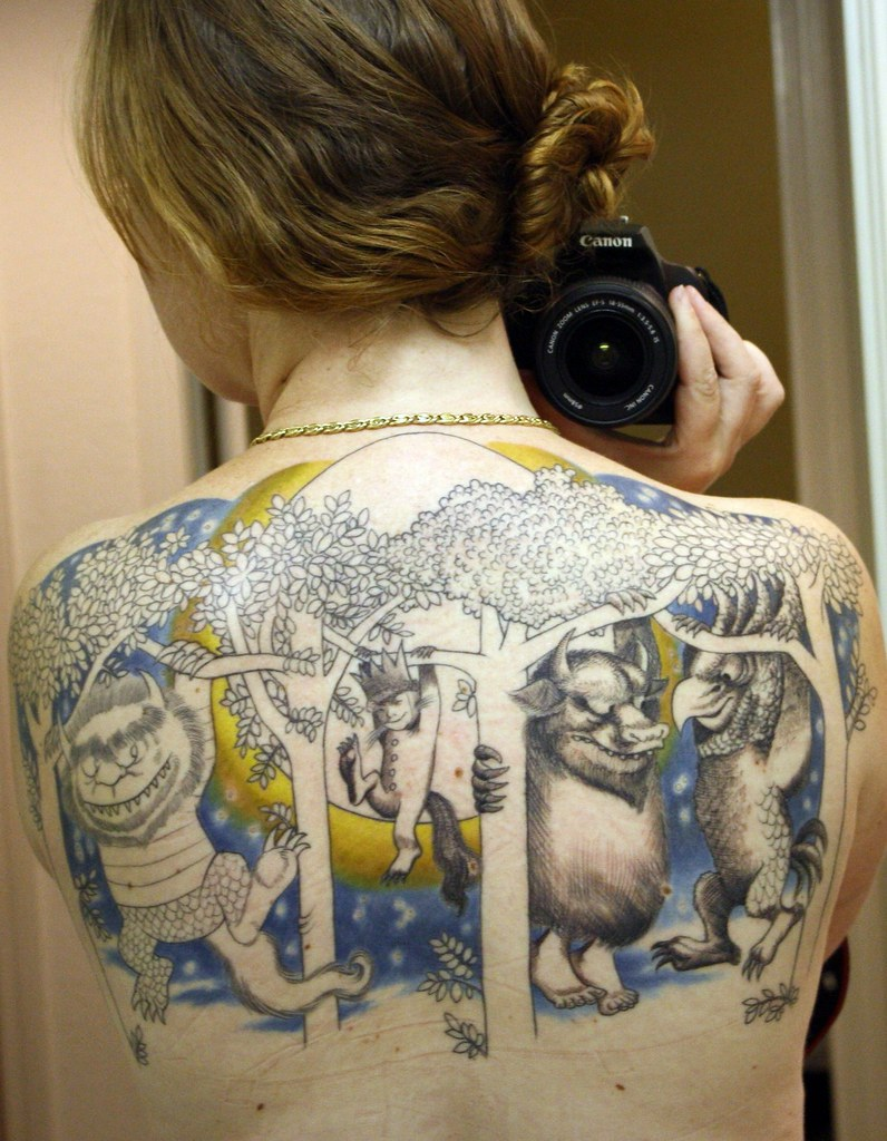 Where The Wild Things Are Tattoo Miss Grace Flickr
