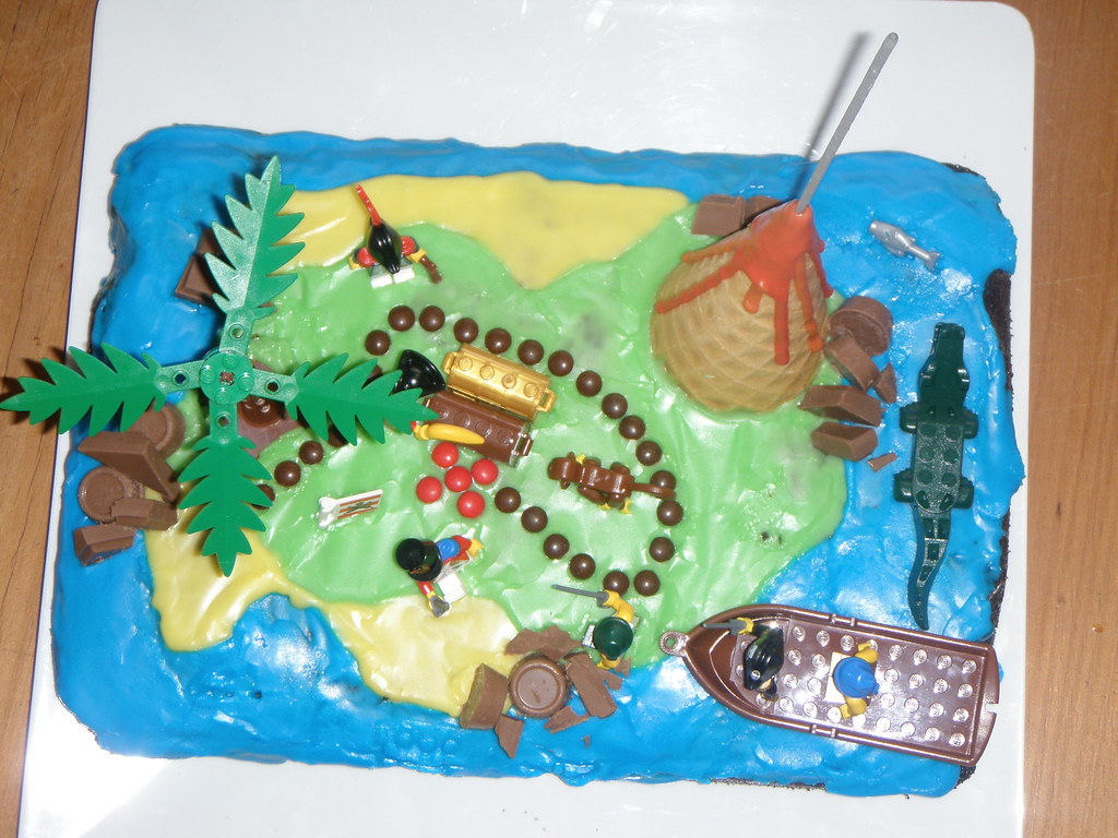 Treasure Map Birthday Cake Jo Flickr