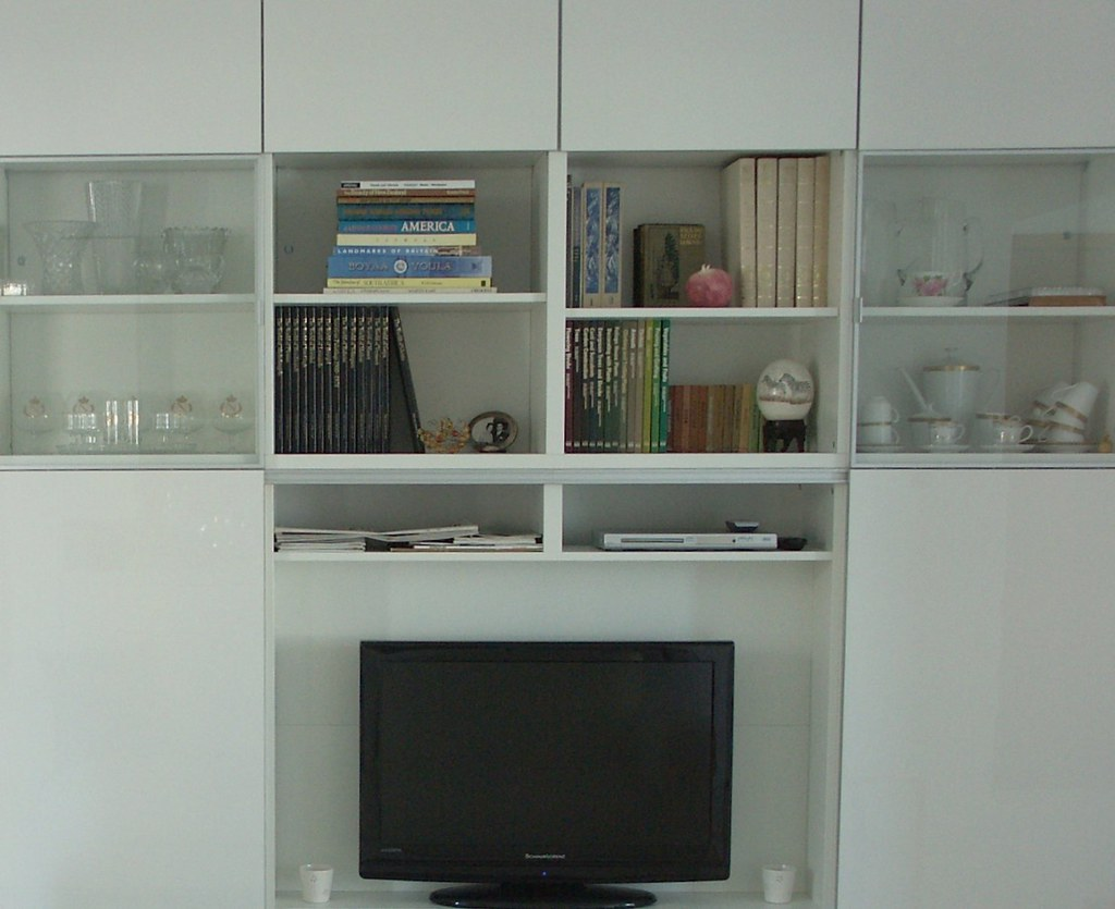 Besta Storage And Tv Unit With Sliding Doors Its Amazing Flickr