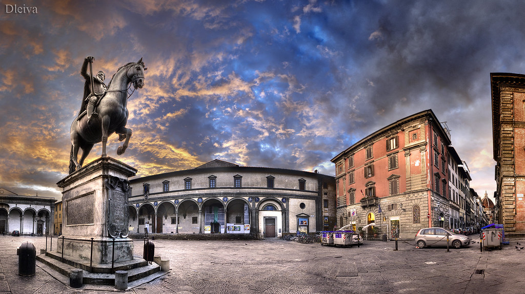 Florencja - Piazza Santissima Annunziata