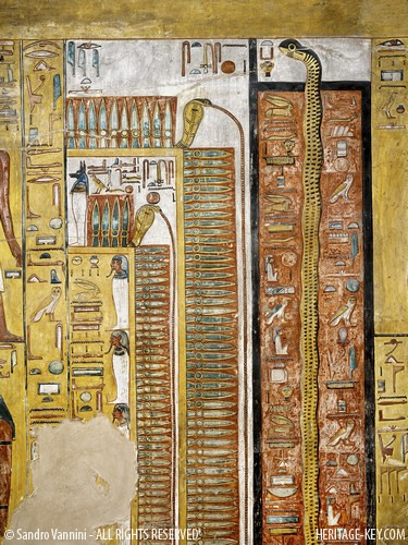 The Burial Crypt Of The Tomb Of Seti I Kv17 Visit