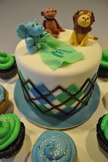 Baby Jungle Animals | by Stephanie's Cakes