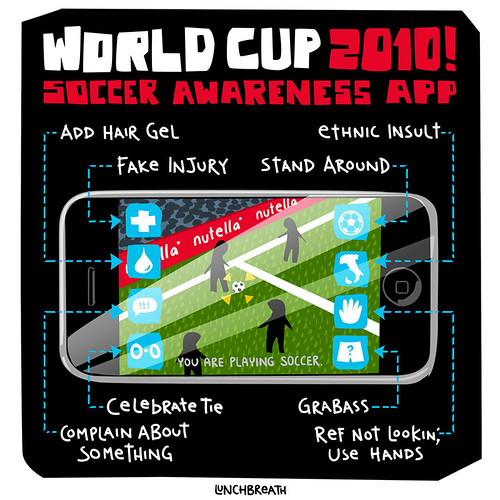 Soccer Awareness App | by lunchbreath