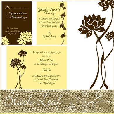 lotus card set description this charming lotus wedding ca flickr