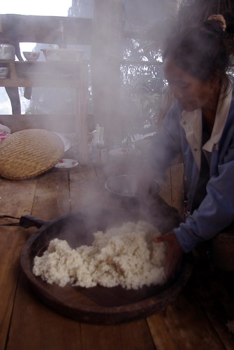 Sticky rice - Cycle Touring in Laos | by The Hungry Cyclist