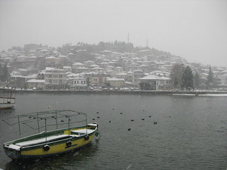 Ohrid in Wintertime, January 2009 | by plepe