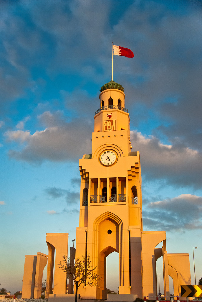 Five Past Five The Clock The Riffa Clock Tower East Riff Flickr
