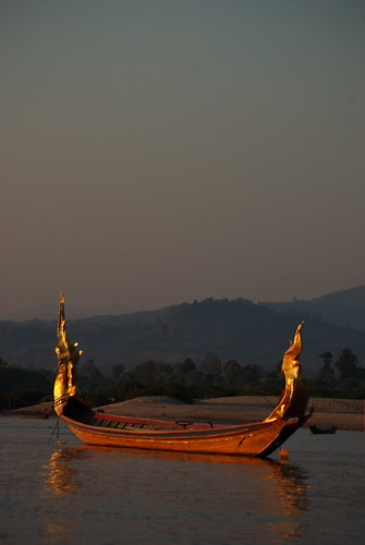 Dragon Boat, Mekong, Laos. | by The Hungry Cyclist