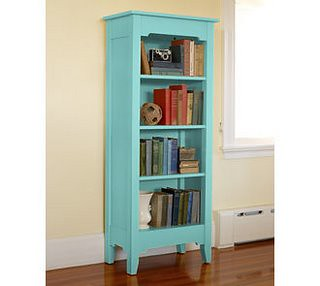 Blue Bookcase light blue bookcase | the girl can't help it | flickr