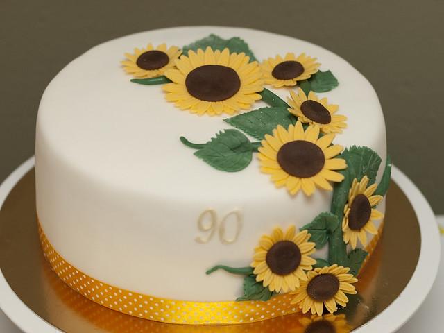 Sunflower Cake Matejad Flickr