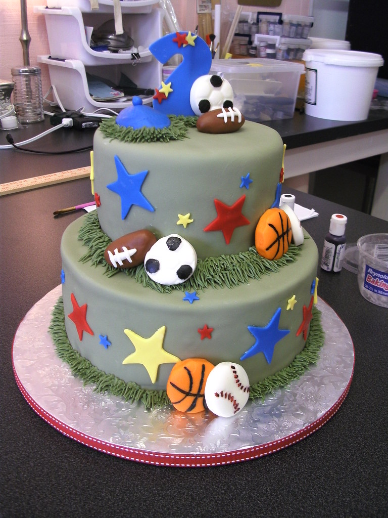 All Photos Of Birthday Cake : All Sports Birthday Cake Clarissa Lopez Flickr