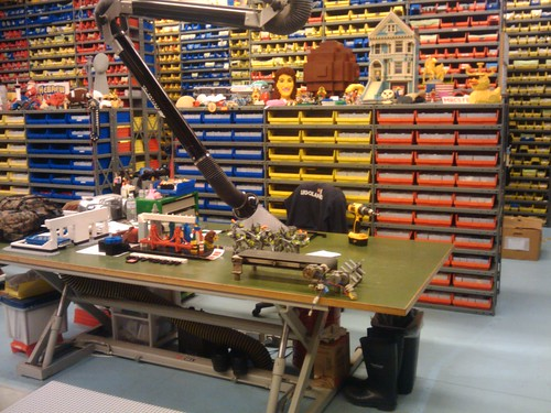 My Workbench This Is Deskworkbench At LEGOLAND Califor Gary