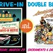 SacMod event: March 29, 2014 -- Drive-in Double Feature!