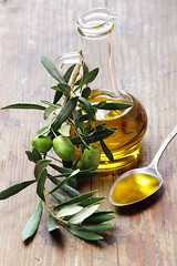 Olive oil with olive branch | by Van Zai
