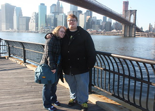 Me and Rob and the Brooklyn Bridge | by kjenkinsduffy