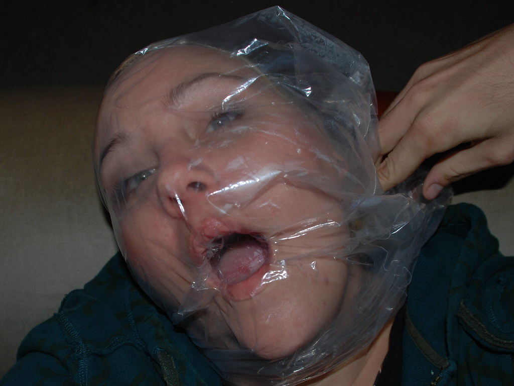 Plastic Bag Suffocation Fetish 15
