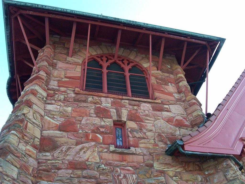 Napoleon Ohio First Presbyterian Church Tower This