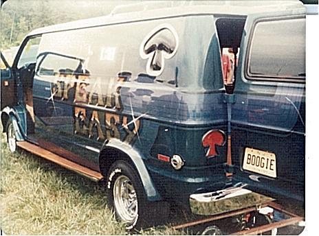 Van Van Custom Custom Dodge Van Speak Easy
