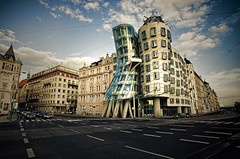 "The Dancing House (""Ginger and Fred"" House) [Prague, Czech Republic] 
