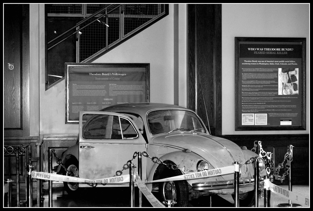 ted bundy s vw beetle even under a thin black shroud the flickr. Black Bedroom Furniture Sets. Home Design Ideas