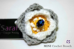 MINI crochet brooch | by Sarah Seth