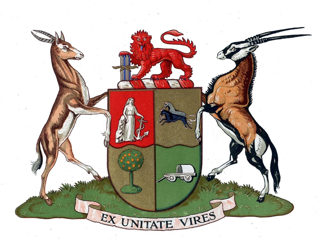 South African Coat Of Arms 1930 - 1932