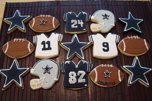 More Dallas Cowboys Cookies These Were Done In