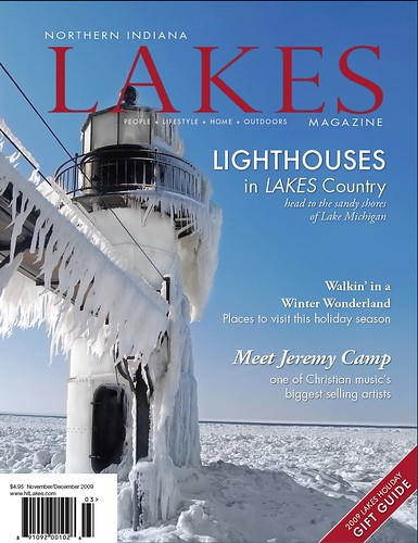 Northern Indiana Lakes Magazine Cover | by Tom Gill.