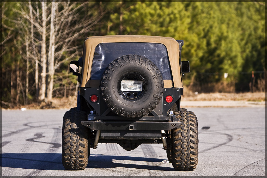 Jeep Wrangler Rear Bumper >> Jeep Wrangler Rear Comp Cut | Halston Pitman | MotorSportMedia | Flickr