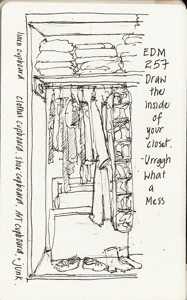 25jan10 draw the inside of your closet