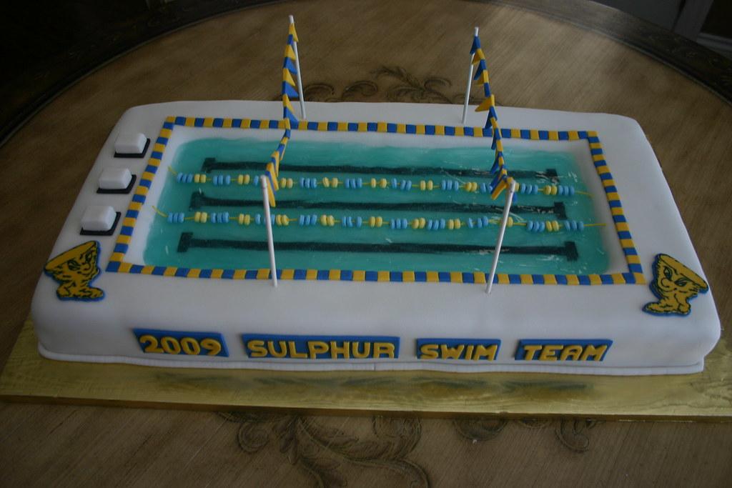 Swim Team Cake Ideas