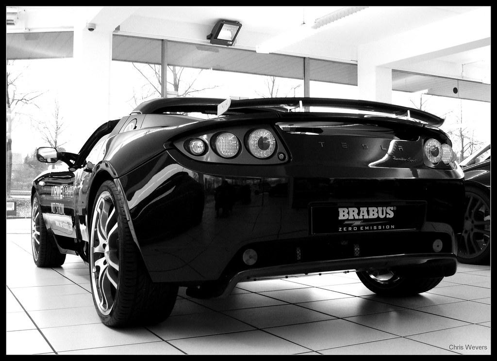 Brabus Tesla Roadster Sport Brabus Tesla Roadster Sport En Flickr