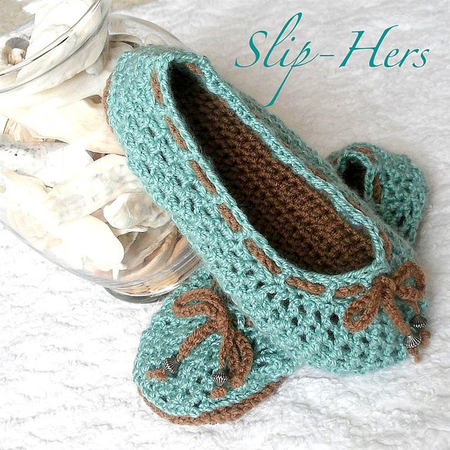 Crochet Pattern Kids And Womens Ballet Slippers Optional D Flickr