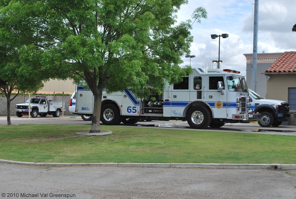 Kern County Fire Dept Kern County Fire Engine 65 And