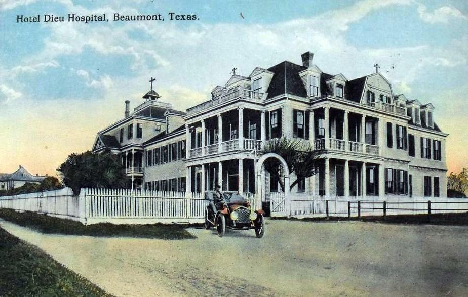 hotel dieu hospital  beaumont  texas