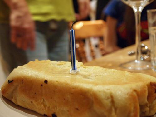Dairy Free Lemon Birthday Cake
