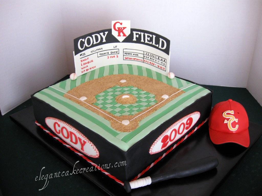 Baseball Field Cake Pan