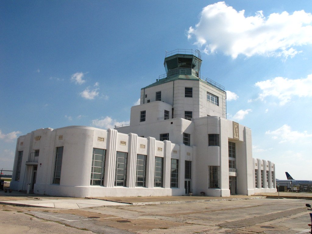 Houston Texas Hobby Airport 1940 Air Terminal Museum 2009 … | Flickr