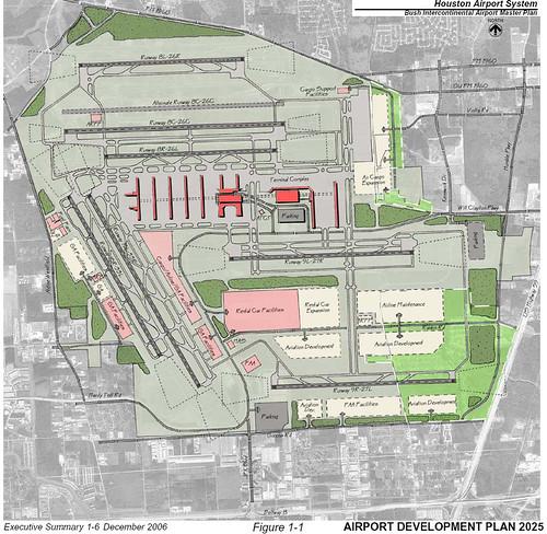 Iah Masterplan Circa 2025 Future Design For Houston