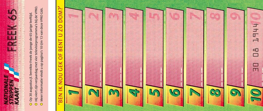 Freek 65 Strippenkaart Foldout Cover Interior Of Vpro Gi Flickr