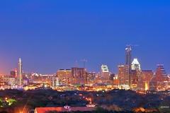 Austin Aglow | Downtown Skyline, Austin, TX Austin is a ...