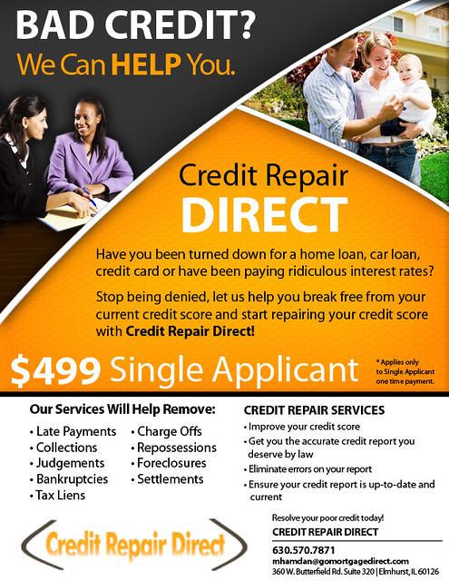 credit repair flyer jessica randall flickr. Black Bedroom Furniture Sets. Home Design Ideas