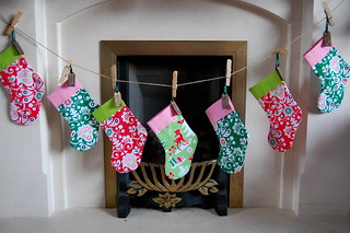 Handmade Christmas Stockings | by well.ill.be.darned